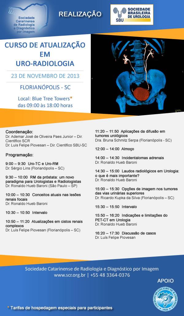 Curso de Atualização em Uro-Radiologia